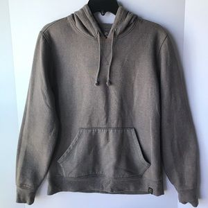 NWT Lucky Brand   Brown Speckled Hoodie Sweater, S
